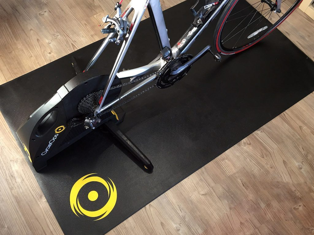Turbo trainer mat